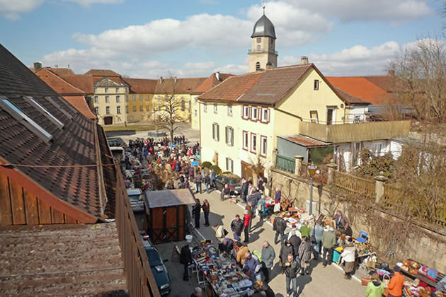 Osterflohmarkt in Bartenstein